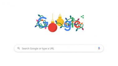 Christmas 2019 Google Doodle Is Here! Holiday Season Gets Another Exciting Animation as Search Engine Wishes All Of Us 'Happy Holidays'