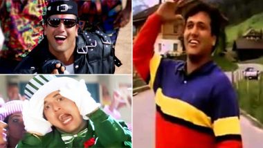 Happy Birthday Govinda: 10 Dance Tracks Of The Legendary Actor That Should Never Be Remixed