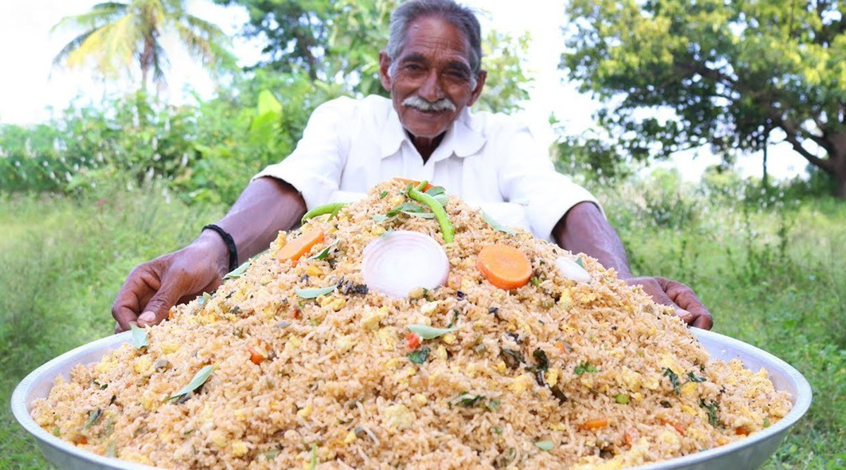 Grandpa's Kitchen Tops YouTube's Regional Language Creators List As Late Narayana Reddy's Family Continues to Feed Orphans