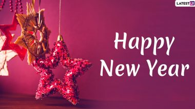 Happy New Year 2020 Greetings & Happy New Decade Images: Send WhatsApp Stickers, Quotes, SMS and Hike GIF Messages to Family and Friends
