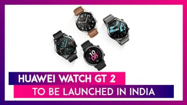Huawei Watch GT 2 Likely To Be Launched In India On December 5 | Price, Features, Variants & Specifications