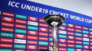 ICC U19 Cricket World Cup 2020 All Squads: Full Players List of Teams Participating in Under-19 CWC 20