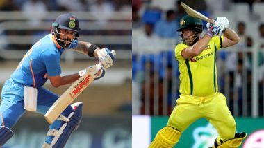 India vs Australia ODI Series 2020 Schedule in IST, Free PDF Download: Get Fixtures, Time Table With Match Timings and Venue Details of Australia Tour of India