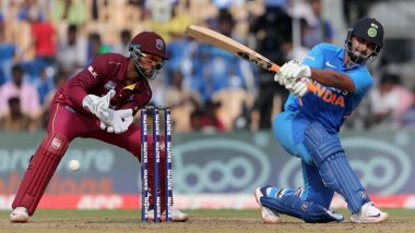 Live Cricket Streaming of India vs West Indies 3rd ODI 2019 on DD Sports, Hotstar and Star Sports: Check Live Cricket Score, Watch Free Telecast of IND vs WI Series on TV and Online