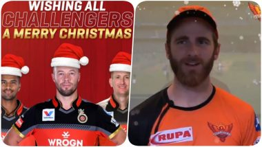 Christmas Day 2019: Here's How Mumbai Indians, Chennai Super Kings, Sunrisers Hyderabad & Other IPL Teams Wished Fans on Xmas Day!