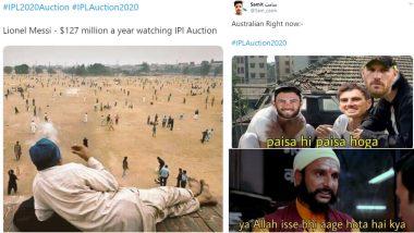 IPL 2020 Player Auction: Funny Memes Go Viral as Australia Players Pat Cummins, Glenn Maxwell and Aaron Finch Earn Big!