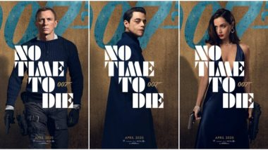 No Time To Die Character Posters: Daniel Craig's Bond Ditches the Tuxedo, Rami Malek's Antagonist Looks Impressive (See Pics)