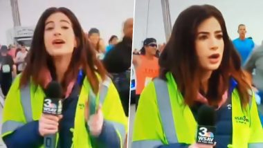 Georgia Reporter Groped on Live TV by a Jerk Participant During Running Event, Journo Slams the Runner for Slapping Her Butt!