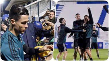 Cristiano Ronaldo, Paulo Dybala and Others Meet Fans Ahead of Juventus vs Lazio in Supercoppa Italiana 2019-20 Final (See Pics & Video)
