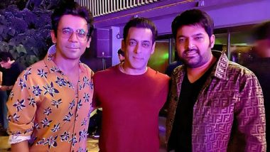 Salman Khan Clicks A Picture With Kapil Sharma And Sunil Grover And Fans Are Already Praying For A Reunion