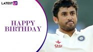 Karun Nair Birthday Special: Revisiting Talented Batsman's 300 vs England, Watch Video