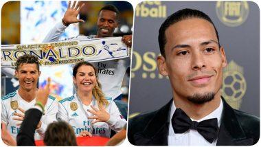 Virgil van Dijk Takes a Jibe at Cristiano Ronaldo at Ballon d'Or 2019 Awards, CR7's Sister Katia Aveiro Reminds Liverpool Star of Champions League 2018!