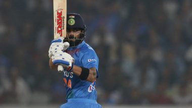 Virat Kohli Becomes First Indian to Complete 1000 T20I Runs at Home, Achieves Feat During India vs West Indies 3rd T20I 2019