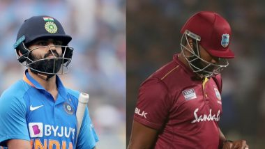 Virat Kohli, Kieron Pollard Become First Captains to Be Out for Golden Ducks in Same ODI Match