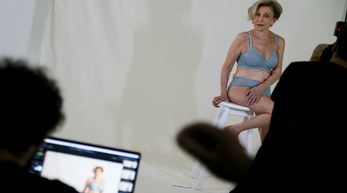 Brazil's 79-Year-Old Granny Turned Lingerie Model Helena Schargel, Wants to Encourage More Older Women Into Sexy Fashion (Check Pics)