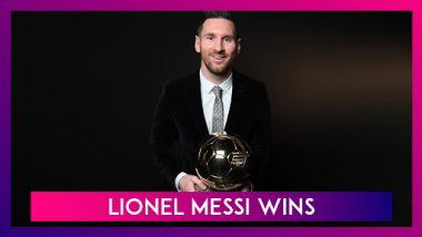 Lionel Messi Wins Ballon dOr 2019  Takes Away The Honour For Sixth Time