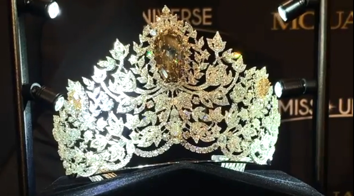 Miss Universe 2019 Crown Unveiled! Beauty Pageant's Stunning $5 Million 'Power of Unity' Crown Video Will Leave Your Mouth Wide Open