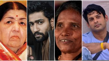 Lata Mangeshkar, Vicky Kaushal, Ranu Mondal, Siddharth Shukla Top The Most-Searched Personalities List in Google Year in Search 2019 India List