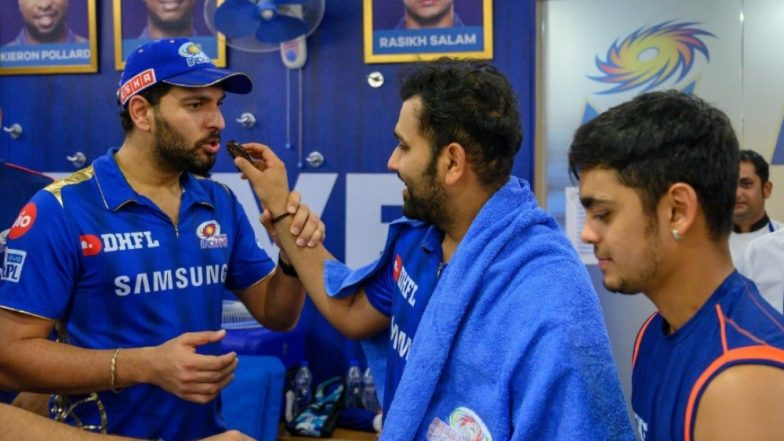 Rohit Sharma Wishes Yuvraj Singh on His Birthday, Hitman Gets into a Funny Banter on Twitter with Yuvi Over His 'Bachelor Trip' to Thailand