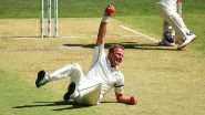 Neil Wagner Catch Video: Pacer Takes One-Handed Stunner During Australia vs New Zealand 1st Test 2019 Day 1