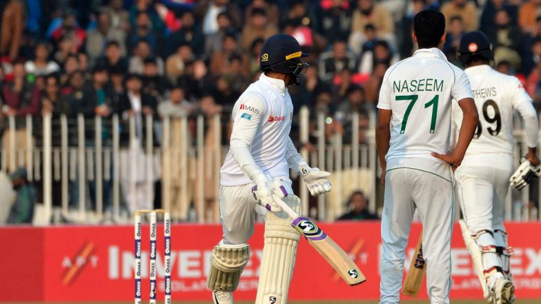 Pakistan vs Sri Lanka, 1st Test Match 2019 Day 2 Live Streaming on PTV Sports & Sony Liv: How to Watch Free Live Telecast of PAK vs SL on TV & Cricket Score Updates in India Online