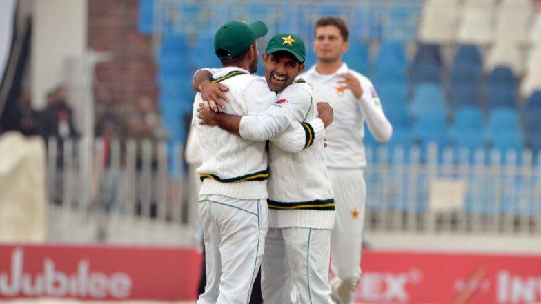 Pakistan vs Sri Lanka, 1st Test Match 2019 Day 3 Live Streaming on PTV Sports & Sony Liv: How to Watch Free Live Telecast of PAK vs SL on TV & Online in India