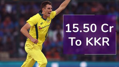 IPL 2020 Player Auction: Twitterati React As Pat Cummins Becomes Most Expensive Overseas Player, Sold to KKR for 15.50 Crores