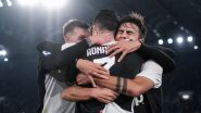 Cristiano Ronaldo Scores, But Juventus Loses; Paulo Dybala Posts a Motivational Message After 1-3 Defeat Against Lazio (Watch Video)