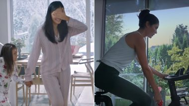 Peloton's Ad of Husband Gifting Exercise Bike to Wife for Christmas Is Heavily Criticized for Being 'Sexist' and 'Dystopian' (Watch Video)