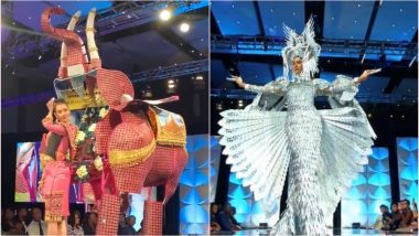 Miss Universe 2019 Preliminary Costume Competition Pics: Ahead of Grand Finale, Here's a Look at the Gorgeous Moments by Beauty Queens at Georgia!