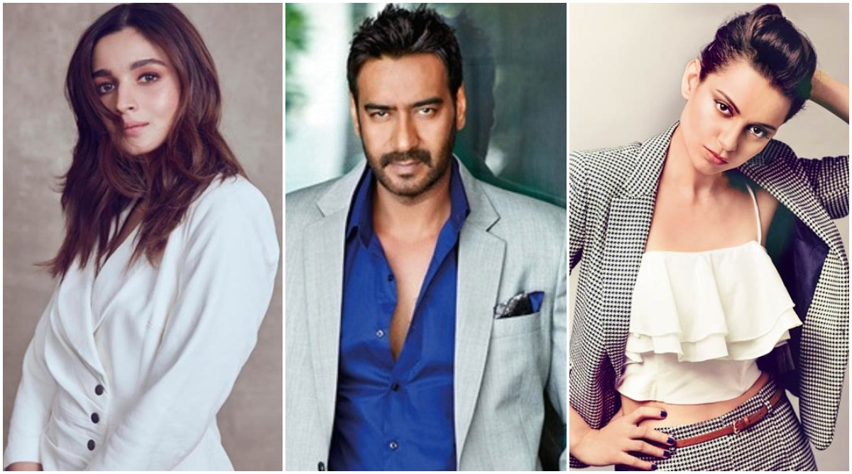 Year Ender 2019: From Alia Bhatt to Ajay Devgn - Here's a List of Bollywood Celebs Who Will Play Key Roles in Upcoming South Movies