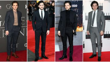 Kit Harington Birthday Special: This Jon Snow Knows Everything When it Comes to Making Dashing Red Carpet Appearances (View Pics)