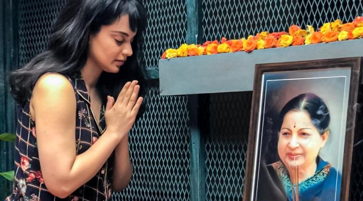 Jayalalithaa Death Anniversary: Kangana Ranaut Pays Tribute to Late Chief Minister of Tamil Nadu