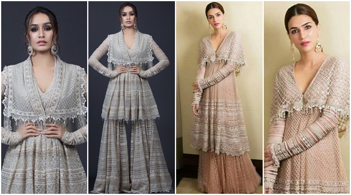 Fashion Faceoff: Kriti Sanon or Shraddha Kapoor - Who Nailed this Tarun Tahiliani Design Better?