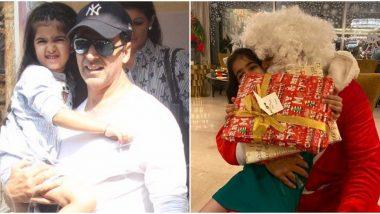 Superstar Akshay Kumar Turns Into Santa Claus This Christmas For His Baby Girl Nitara!