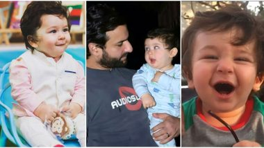 Taimur Ali Khan Birthday Special: 10 Cute Pictures of this Pataudi Prince that Will Make Your Day