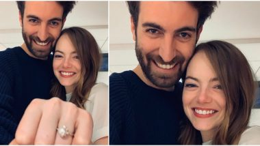 La La Land Actress Emma Stone Gets ENGAGED to Longtime Beau Dave McCary