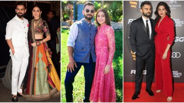 Anushka Sharma - Virat Kohli Anniversary: 7 Pictures of this Gorgeous Couple that Prove they Love Fashion as Much as They Love Each Other