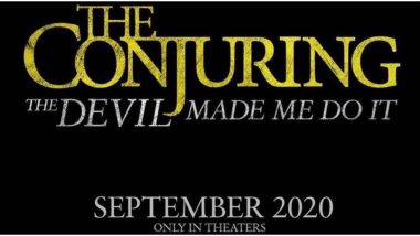 The Conjuring: The Devil Made Me Do It - The Next Outing in the Horror Universe to Release on September 11, 2020