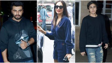 Arjun Kapoor, Arhaan Khan and Others Join Malaika Arora at Her Mother's Residence for Christmas 2019 Celebrations (View Pics)