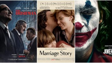Golden Globes 2020 Full Nominations List: Marriage Story Dominates with 6 Nominations, The Irishman and Joker Compete For Best Picture