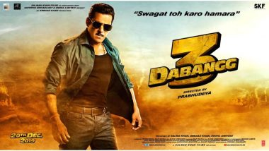 Dabangg 3 Box Office Collection Day 2: Salman Khan's Cop Drama Sees No Major Change in its Collection, Mints Rs 49.25 Crore So Far