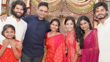 Vijay Deverakonda's Housewarming Ceremony: Rashmika Mandanna and Vamshi Paidipally's Pic with the Arjun Reddy Star Is Winning Hearts