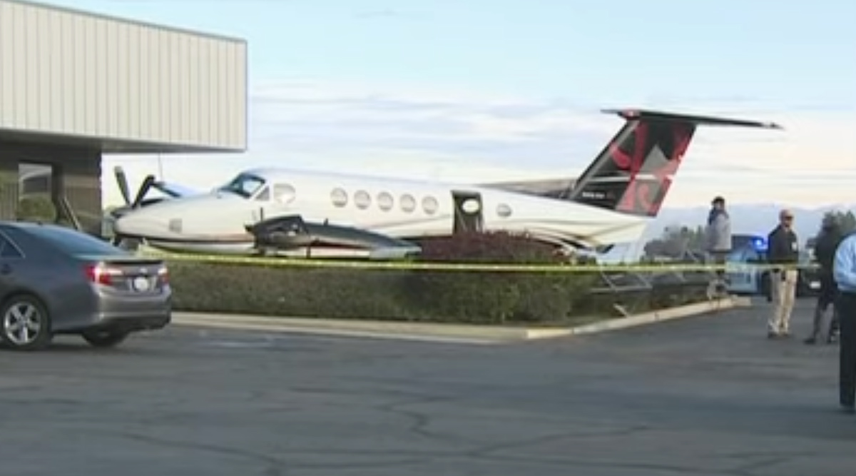 Teenage Girl Steals Private Plane and Crashes It Into a Fence at California's Fresno Yosemite Airport (Watch Video)