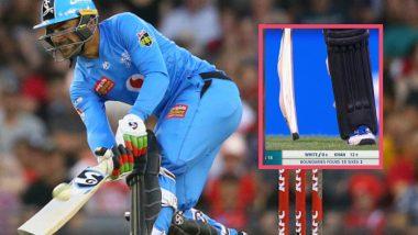 Rashid Khan Comes Up With 'Camel Bat' During Melbourne Renegades vs Adelaide Strikers BBL 2019-20 Clash
