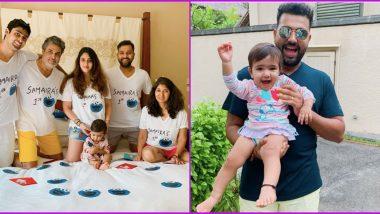 Rohit Sharma Wishes Daughter on Her Birthday, Calls Samaira Cookie Monster; View Pics