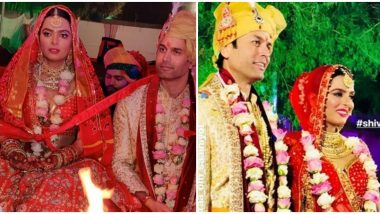 Kundali Bhagya Actress Ruhi Chaturvedi and Choti Sarrdaarni ACtor Shivendraa Om Saainiyol Tie The Knot In Jaipur (View Pics)