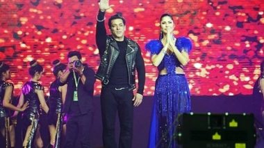 Salman Khan, Katrina Kaif Turn Showstoppers at the Opening Ceremony of Bangladesh Premier League 2019 (Watch Video)