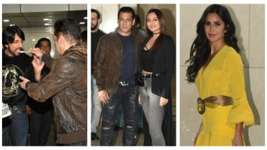 Salman Khan Birthday: Katrina Kaif, Sangeeta Bijlani, Sonakshi Sinha Arrive For Dabangg Star's Bash (See Pics)