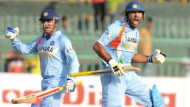 Virender Sehwag Comes Up With a Unique Birthday Wish for Yuvraj Singh, Check Viru's Tweet for Yuvi